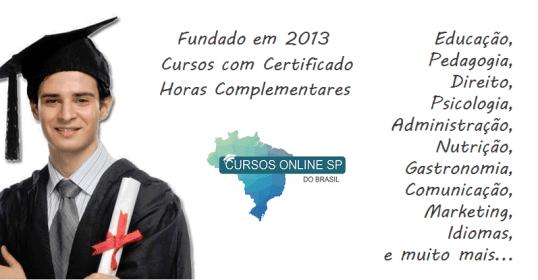 Cursos Online Sp Certificado Em 5 Minutos